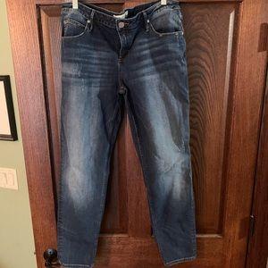 Maurices Premium Denim Jeans Sz 33 x29 Skinny Fit